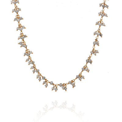 EC One Twilight Gold and Grey Diamond Necklace