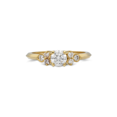 EC One 0.53ct 'Hatty' recycled Yellow Gold Diamond Engagement Ring