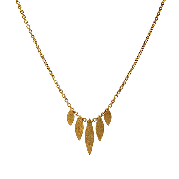 Icarus Graduated Necklace Gold Plated