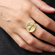 EC One Becca Jewellery Butterfly Coin Ring