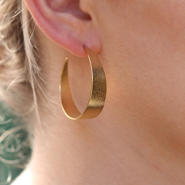 Icarus Large Hoop Earrings