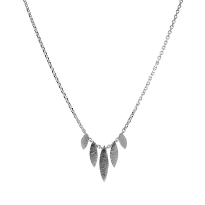Cara Tonkin Small recycled silver Icarus Graduated Necklace Silver EC One London