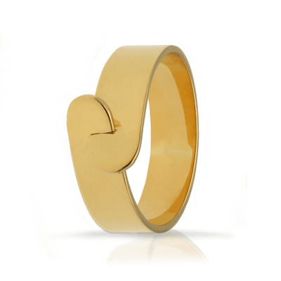 "Megan Collin EC一""Link"" 金 Plated Ring"