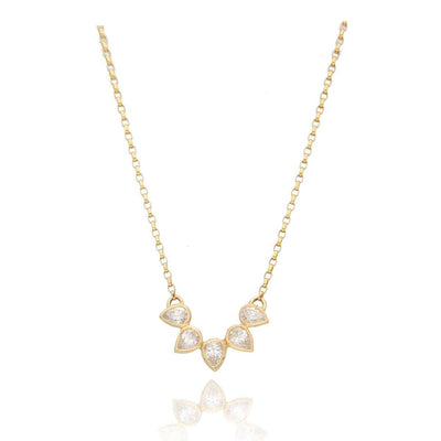 EC One Cece Lucky Gold and Diamond Necklace