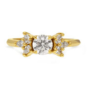 'Melanie' Yellow Gold Diamond Ring
