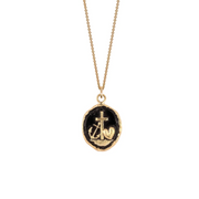 Pyrrha EC One Faith, Hope & Charity 14ct Yellow Gold Necklace
