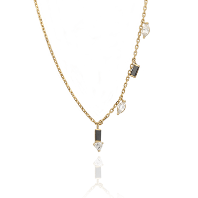 Eline Black Diamond Necklace