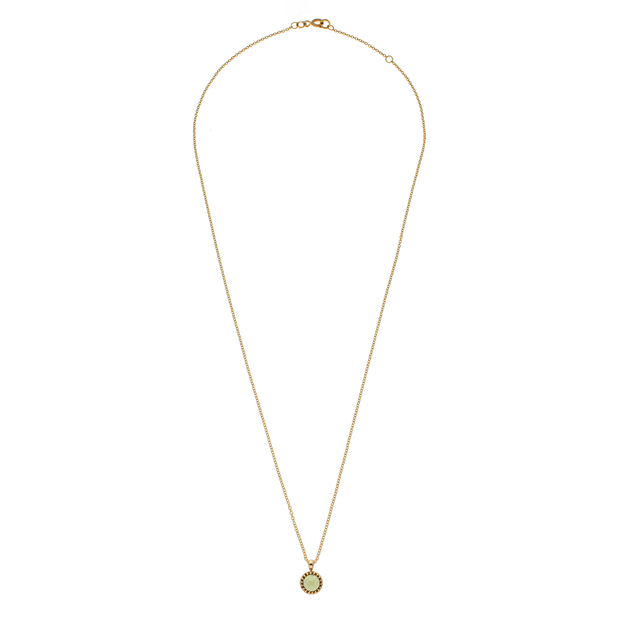 Peridot 'Garden' Gold Necklace