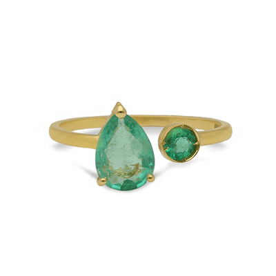 Project 20/20 Emerald Ring