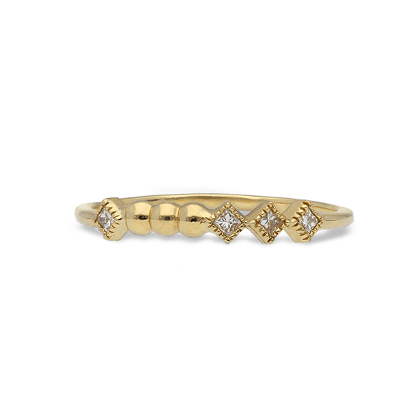 Lara Row Diamond Ring