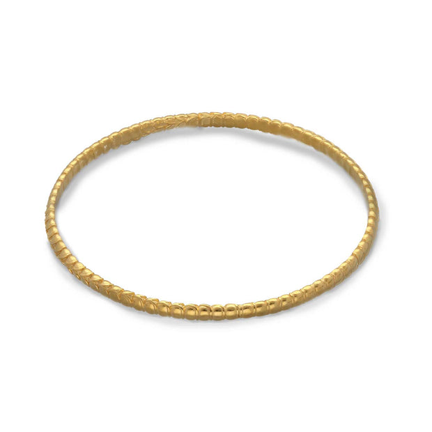 Rosie Kent Arthropod Bangle Gold Plated
