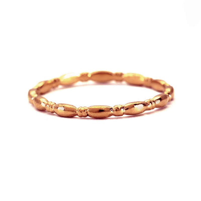 "Rosie Kent EC One ""Gammarus"" 18ct Rose recycled Gold Wedding Band"