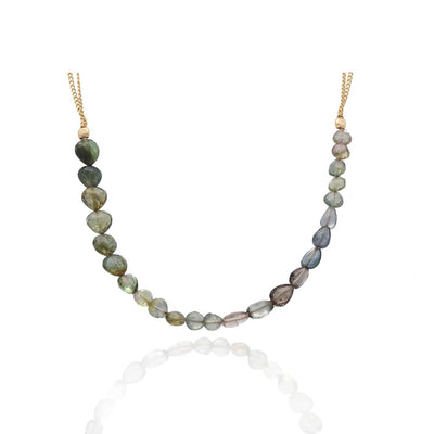 EC一Ruebelle Tourmaline 'Discover' Necklace