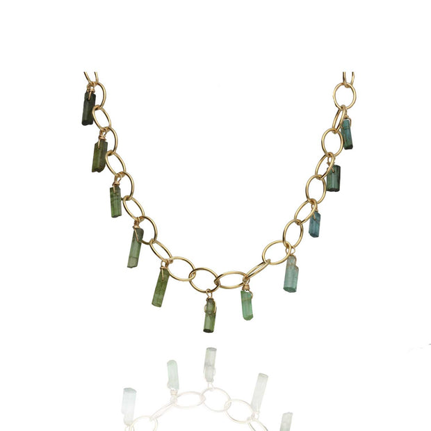 EC One Ruebelle Tourmaline 'Flight' Necklace