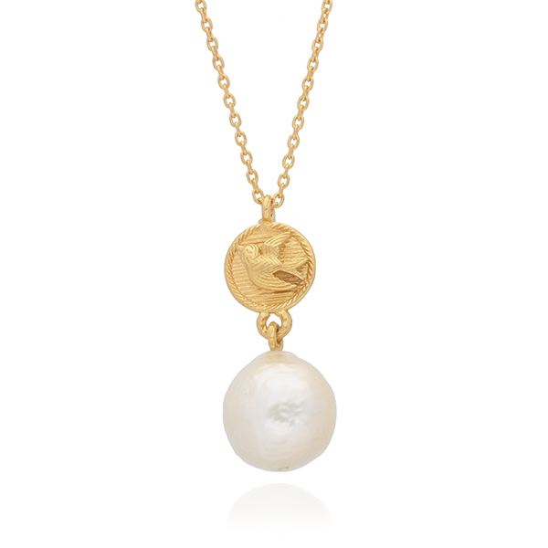 EC One Becca Jewellery Swallow Pearl Necklace