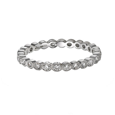 ungar and ungar Brilliant Cut Diamond Eternity Band