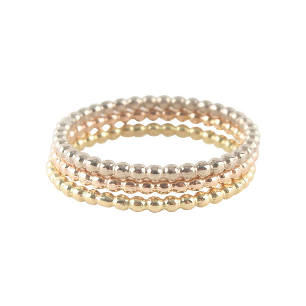Skinny Rose Gold Ball Band