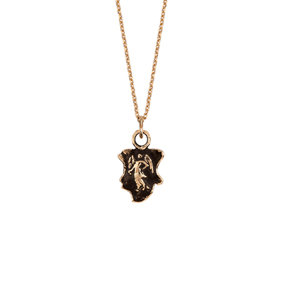Angel 14ct Yellow Gold Necklace