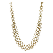 Catena Gold Collar Necklace