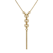 Catena Gold Tassel Necklace