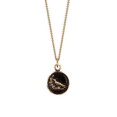 Creativity 14ct Yellow Gold Talisman Necklace
