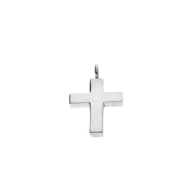 Small Silver Cross Pendant