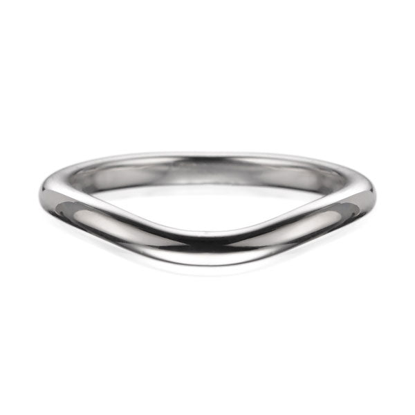 "EC One ""Dainty"" Curved Shaped Fitted Wedding Ring"