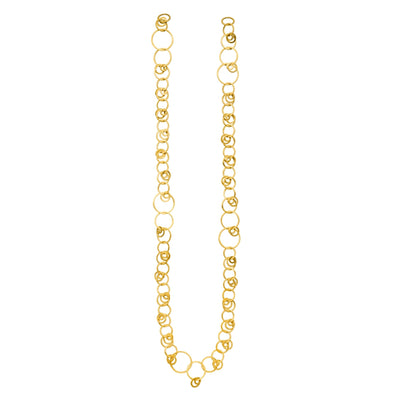 Fine Varying Linked Linked Necklace