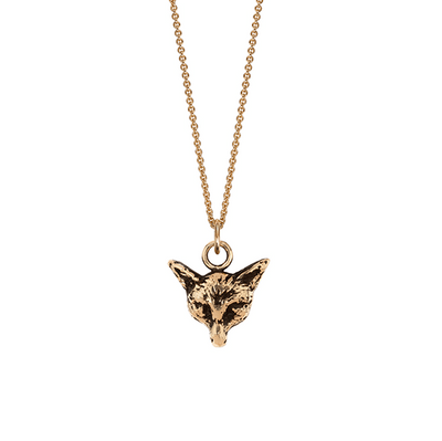 Fox 14ct Yellow Gold Necklace