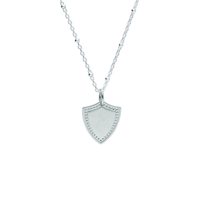 Shield Silver Pendant