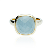 Aquamarine Lauren Ring