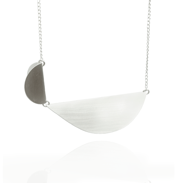 EC One Megan Collins Lea Silver Necklace