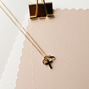 Small Gold Cross Necklace