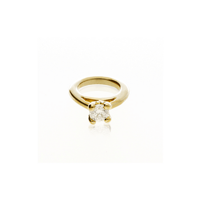 EC One Mini recycled Gold Diamond Ring Charm