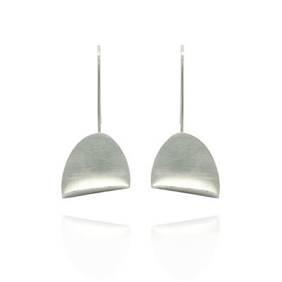 Nilla Silver Drop Earrings