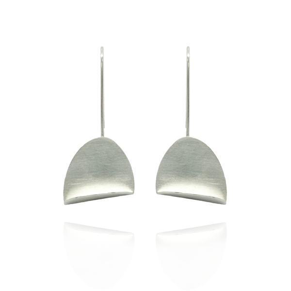 EC One Megan Collins Nilla Silver Drop Earrings
