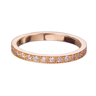 Emma' Rose Gold Diamond Eternity Ring