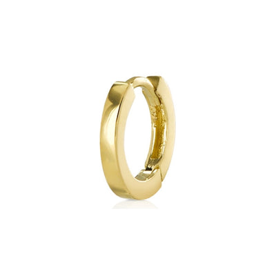 Small Single Gold Hoop Earring
