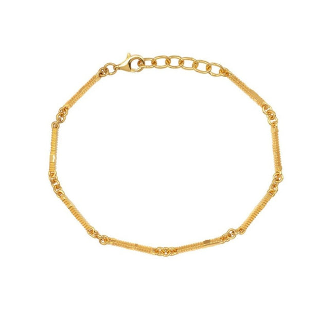 EC One Zoe & Morgan Ameena Gold Plated Bracelet