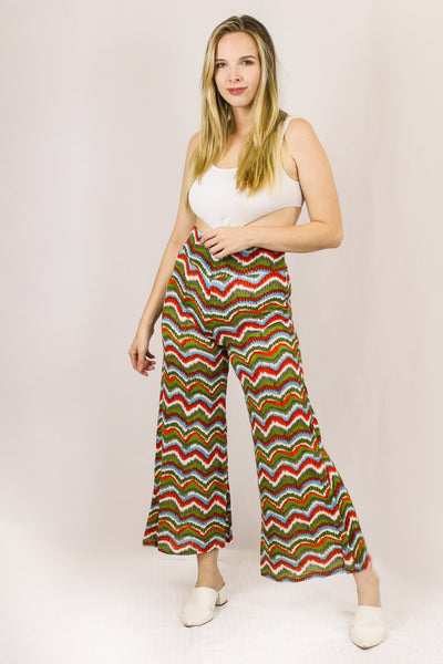 Avani Del Amour BOTTOMS Don't Missioni Me Cropped Palazzo Pants