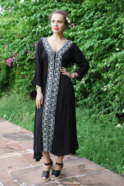 Avani Del Amour DRESSES Back in Black Maxi Dress
