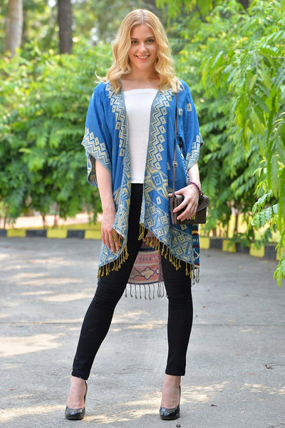 Avani Del Amour OUTERWEAR Let Me Aztec You Something