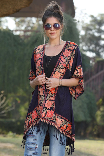 Avani Del Amour OUTERWEAR On The Flying Carpet Kimono