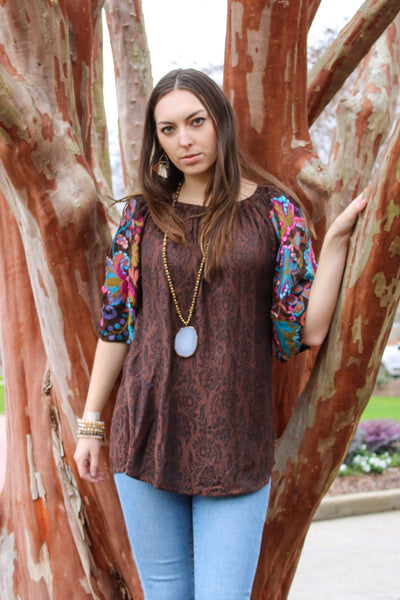 Avani Del Amour TOP Meet Me In The Middle Tunic