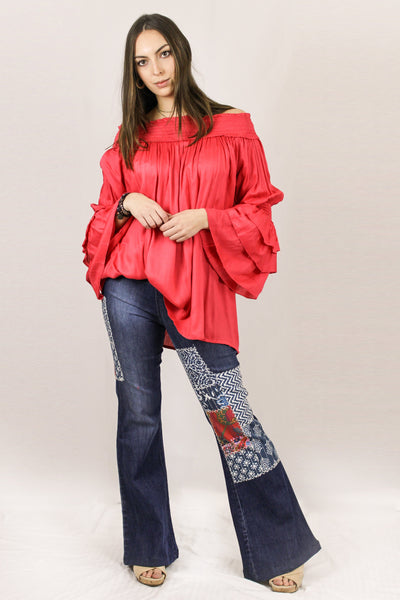 Avani Del Amour TOPS Out With The Gang Tunic