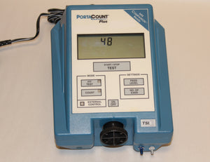 Calibrated TSI Portacount Plus Respirator Fit Tester Model 8020A