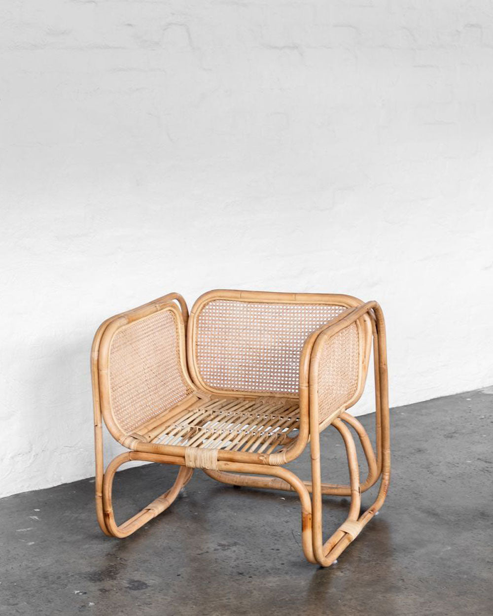 Wilbur Cane Chair / McMullin & Co