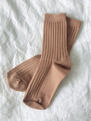For Her Socks / Peanut Butter / Le Bon Shoppe