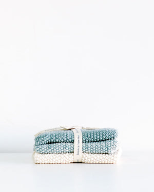 Wash Cloths / Duck Egg / Bianca Lorenne
