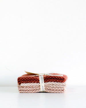 Wash Cloths / Vintage Rose / Bianca Lorenne